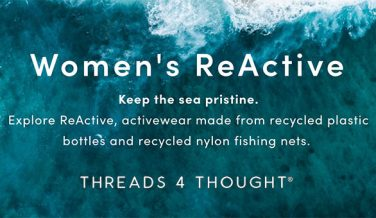 Eco Friendly Activewear from ReActive by Threads 4 Thought
