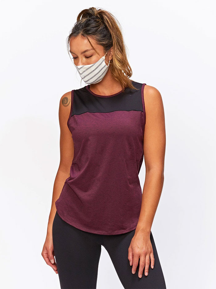 Eco Friendly Activewear from ReActive by Threads 4 Thought - Helene Tank