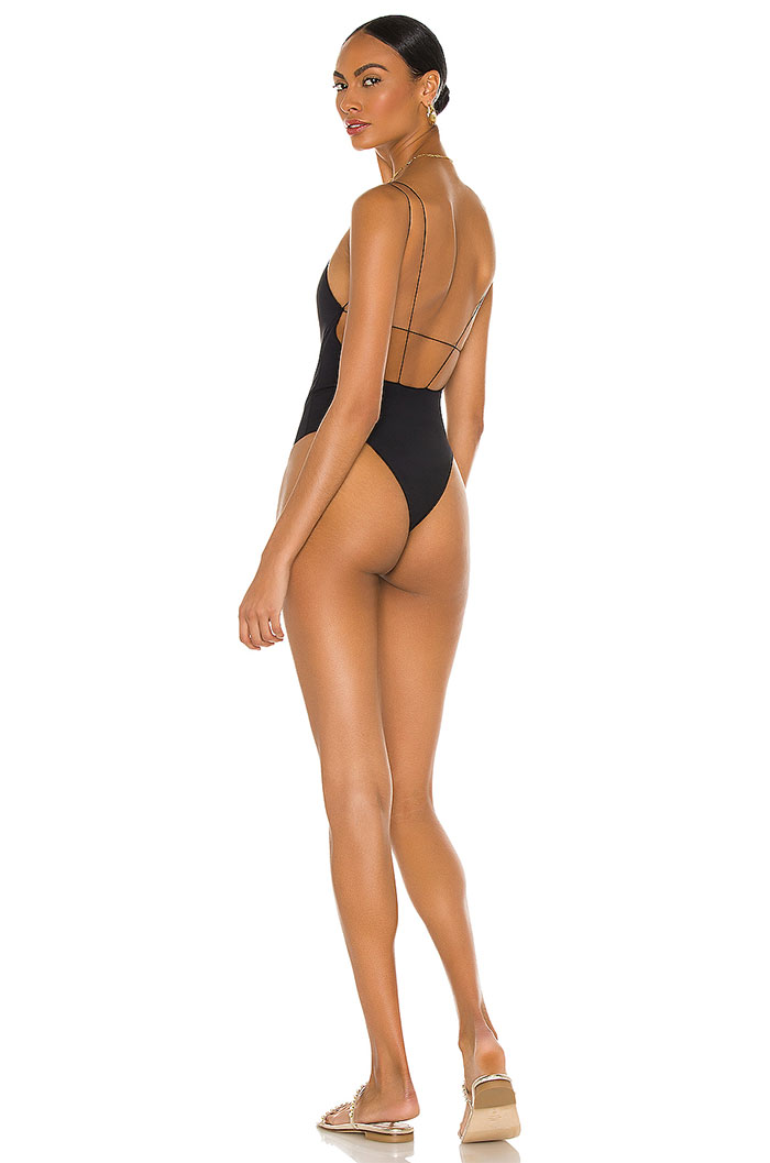 Eco Friendly Swimwear from Tropic of C by Candace Swanepoel - Rockers One Piece in Black