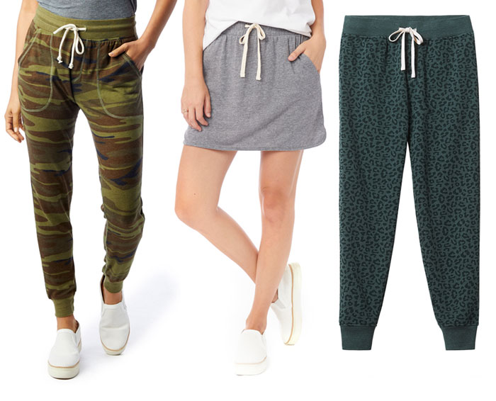 Sustainable Loungewear for Working from Home by Alternative Eco - Various Bottoms and Skirt