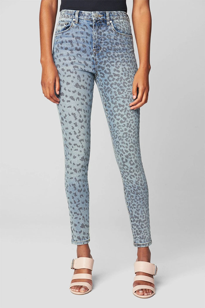 New Wardrobe Game Changers from BLANKNYC - Leopard Print Great Jones Skinny Jean
