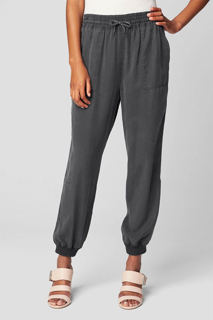 New Wardrobe Game Changers from BLANKNYC - Lightweight Drawstring Tencel Jogger