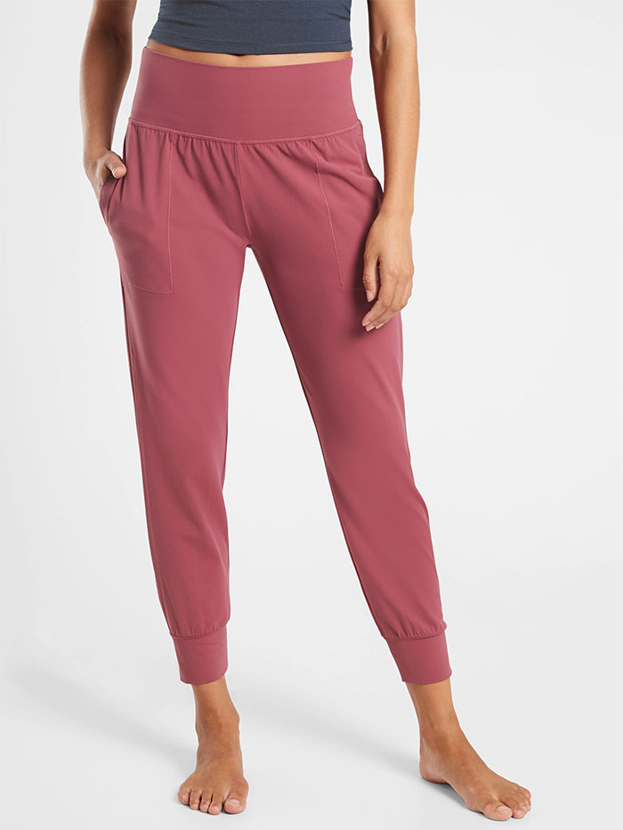 Cozy Joggers for Moving or Lounging in Style from Athleta - Salutation Jogger
