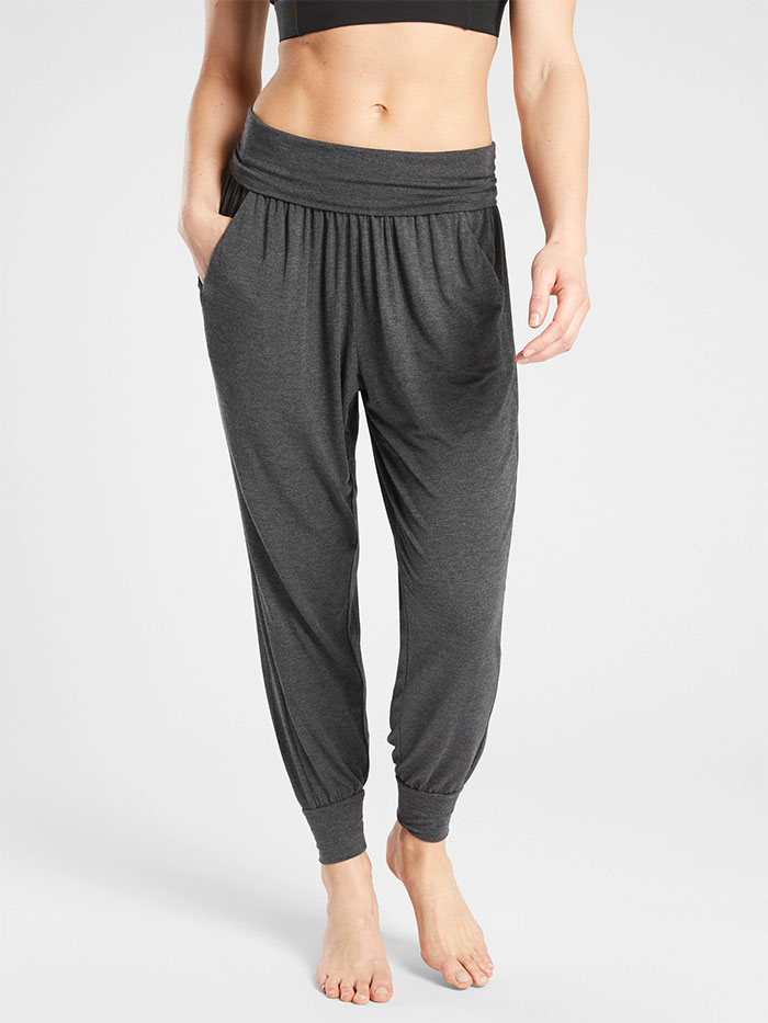 Cozy Joggers for Moving or Lounging in Style from Athleta - Studio Jogger