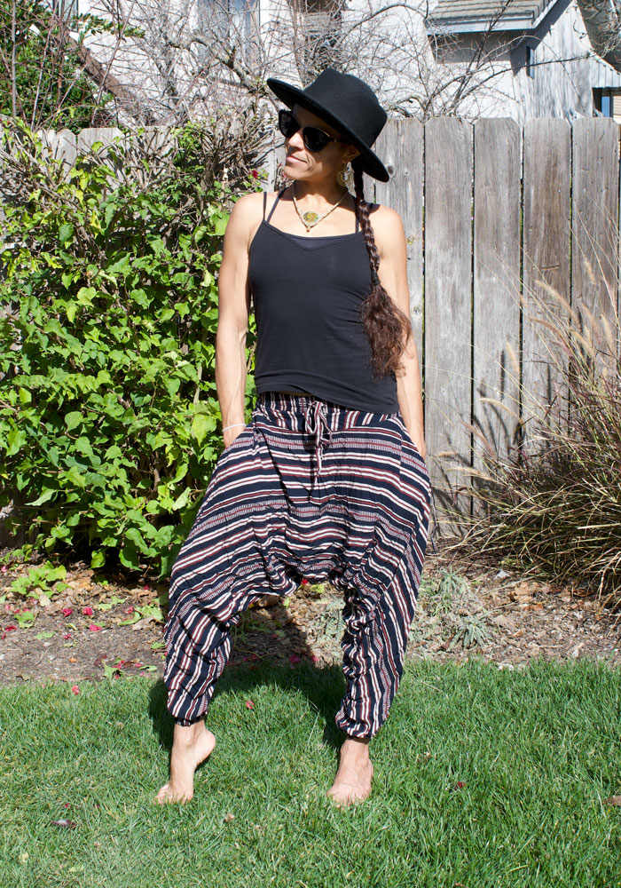 Organic Cotton Premium Harem Pants to Travel, Lounge or Move in by Buddha Pants®