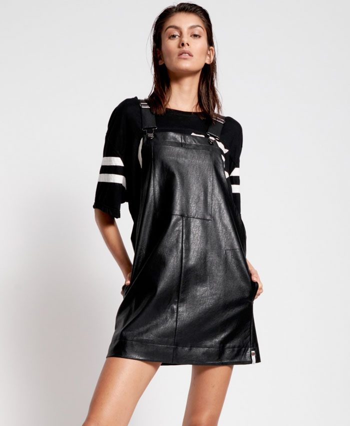 One Teaspoon - Vegan Leather Pini Dress