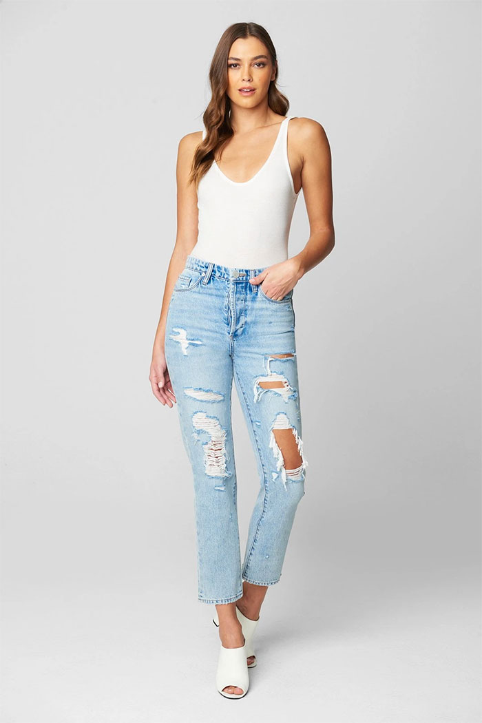 BLANKNYC Releases Sustainable Denim Collection - Madison Crop Jean
