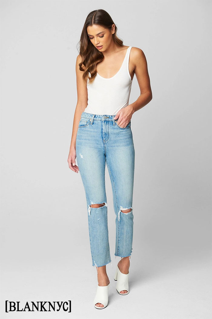 BLANKNYC Releases Sustainable Denim Collection - Madison Crop High Rise Jeans
