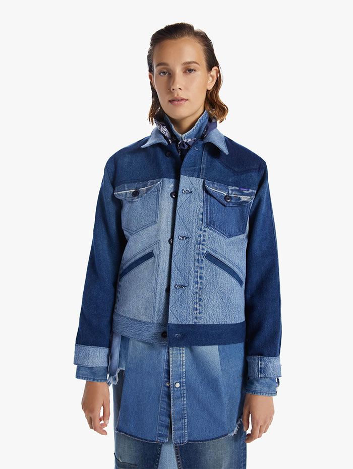 60% MOTHER Recycled Denim Capsule Collection by MOTHER - The Mountain Drifter Jacket