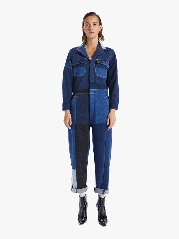 60% MOTHER Recycled Denim Capsule Collection by MOTHER - The Fixer Jumpsuit