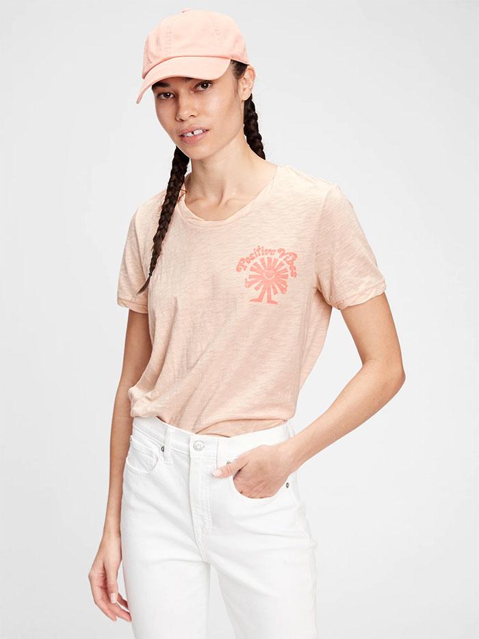 Generation Good - Graphic Tee Shirt - Raffia