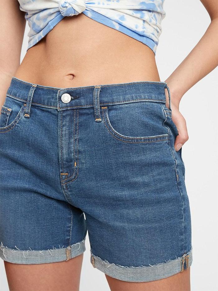 Generation Good - Mid Rise Denim Shorts