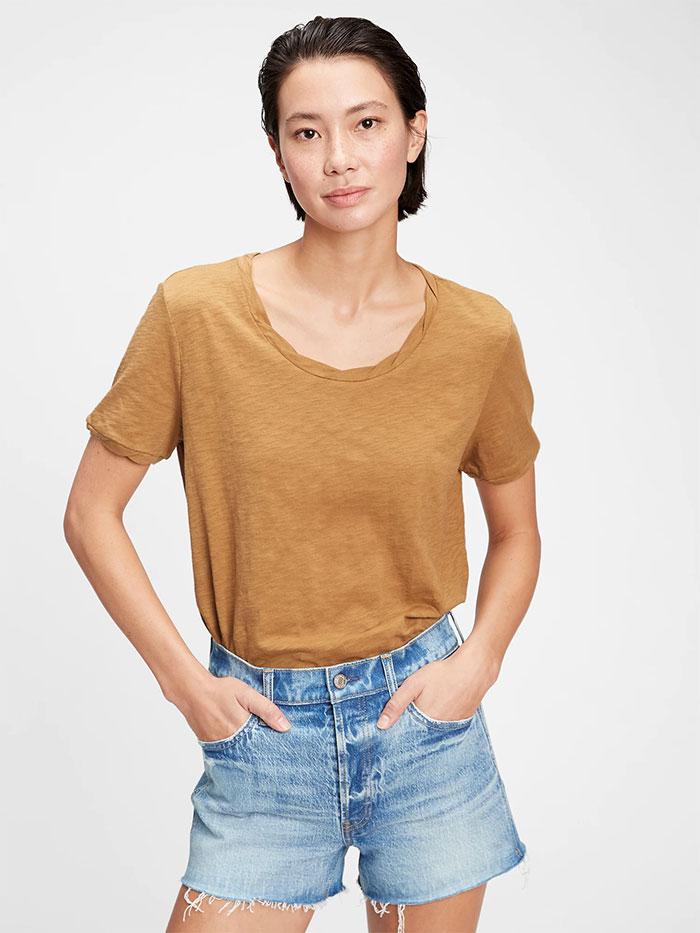 Generation Good - T-Shirt - Deep Camel Tan