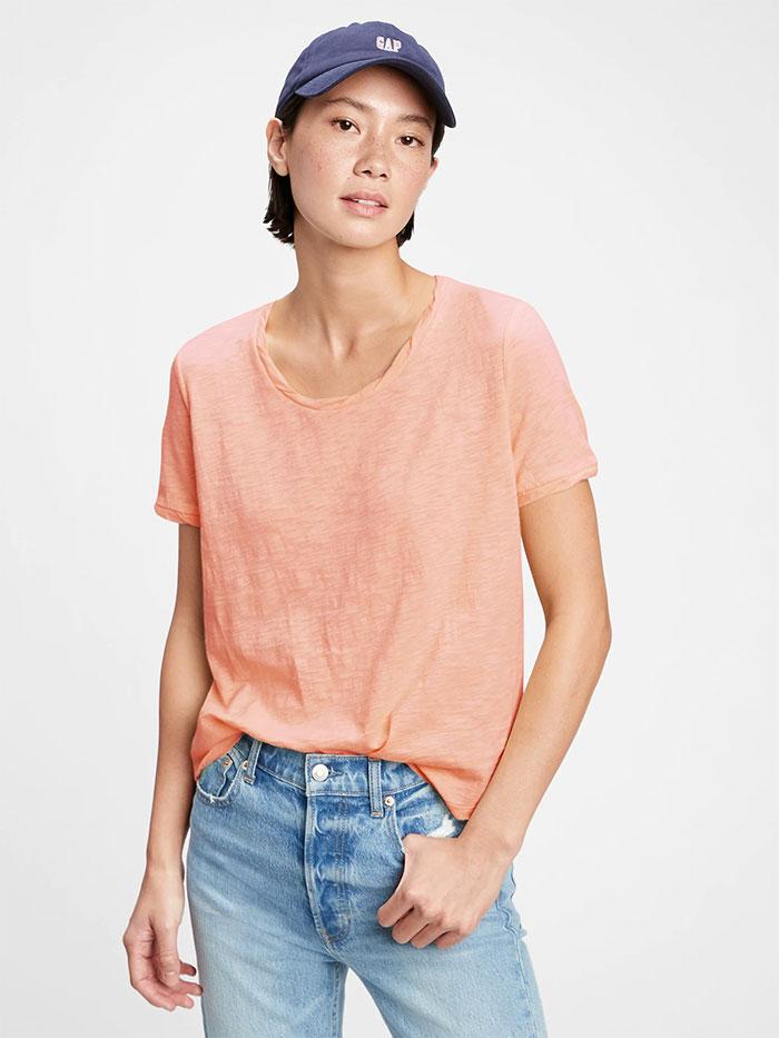 Generation Good - T-Shirt - Peachy Orange