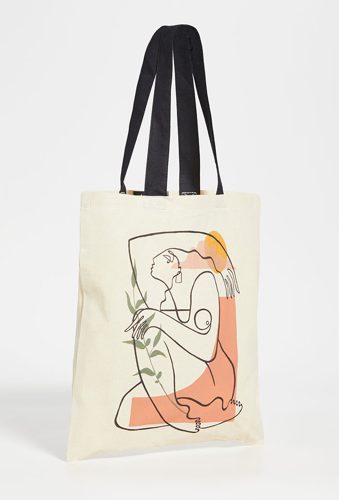 Celebrating Women Artists with House of Aama Tote Bags - Octavia Tomyn