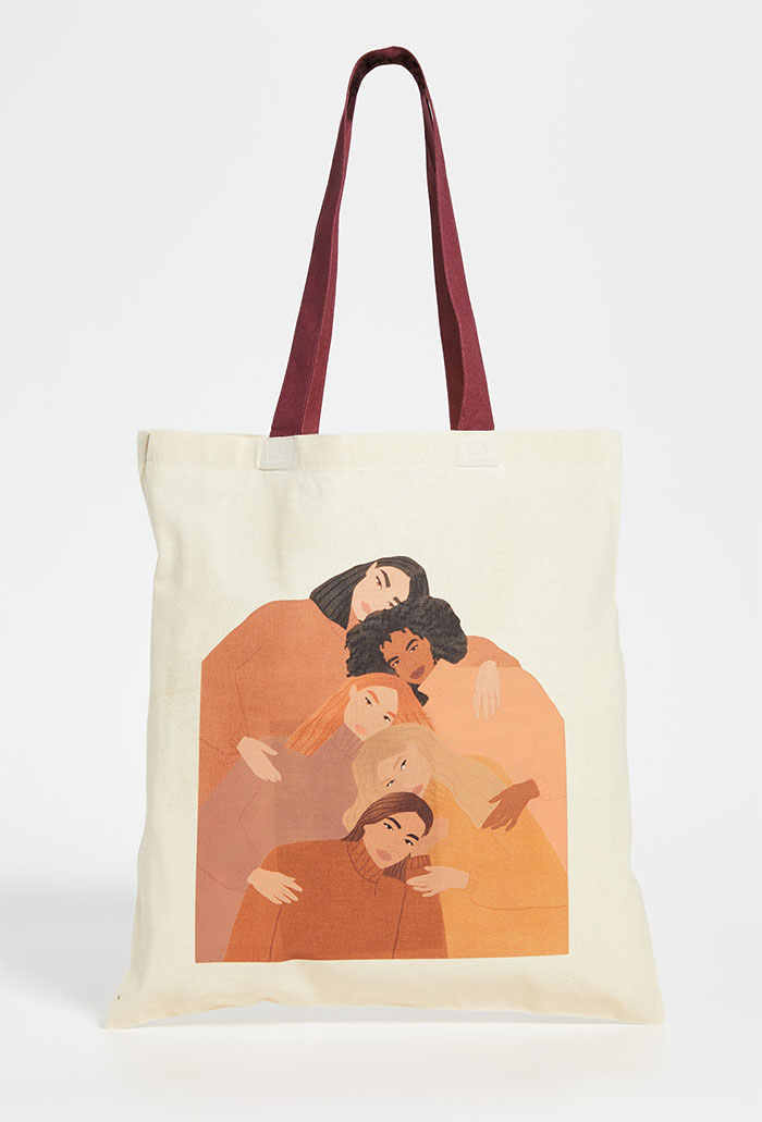 Celebrating Women Artists with House of Aama Tote Bags - Carla Llanos