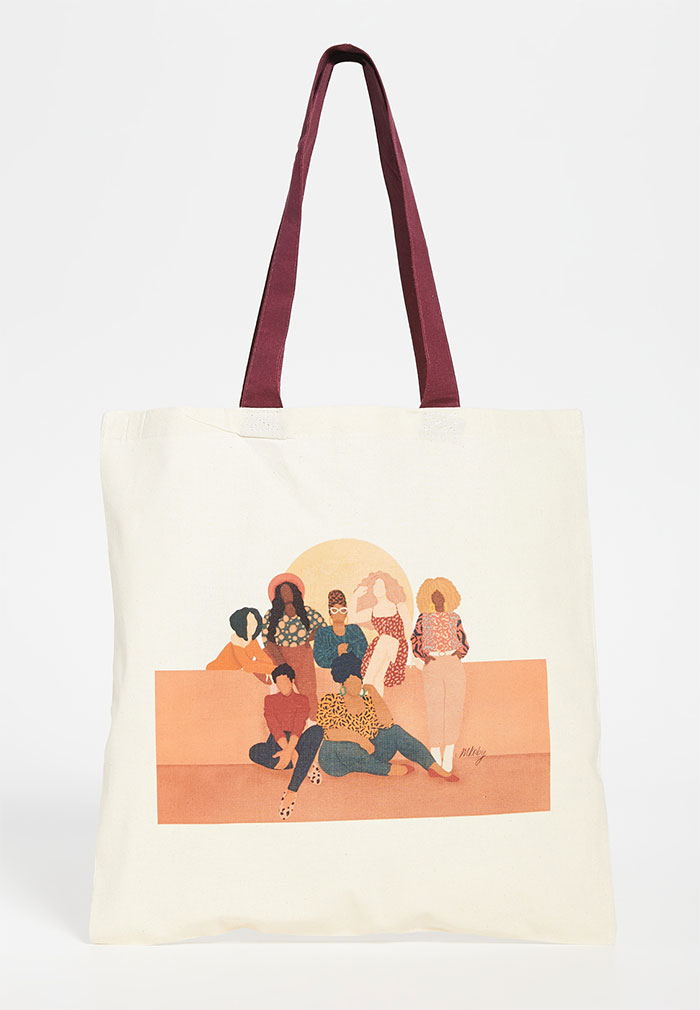 Celebrating Women Artists with House of Aama Tote Bags - Melissa Koby