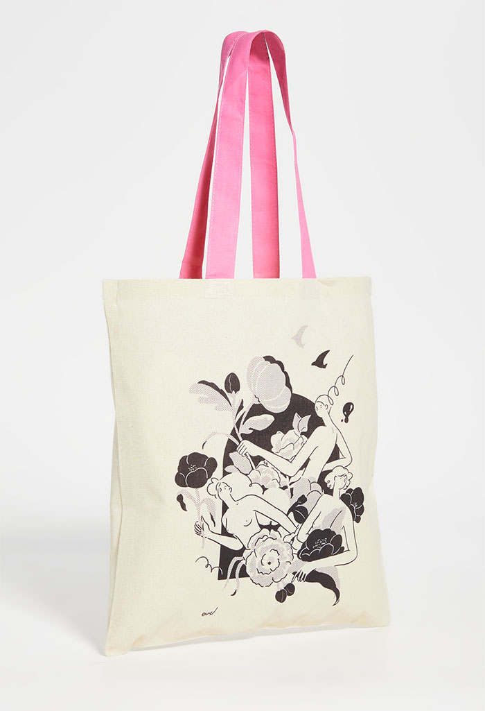 Celebrating Women Artists with House of Aama Tote Bags - Eve Yin