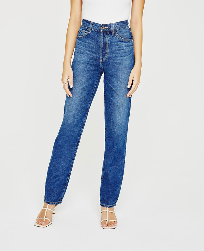 Biodegradable Denim - The Jean of Tomorrow by AG Jeans - Alexxis front view