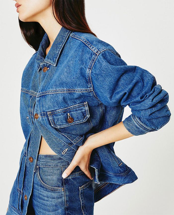 Biodegradable Denim - The Jean of Tomorrow by AG Jeans - Sid Jacket side view