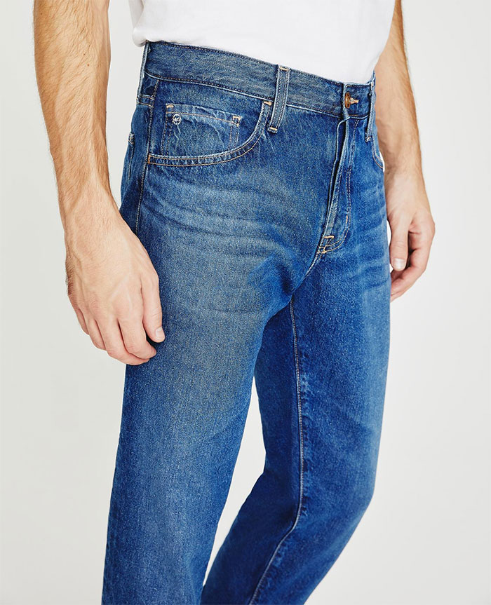 The Jean of Tomorrow by AG Jeans - Tellis side view